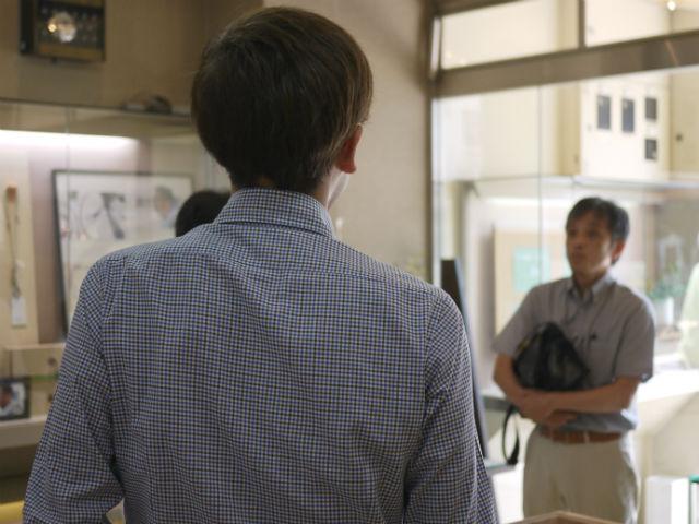 松江商工会議所「しょほう」7月号の取材の1シーン