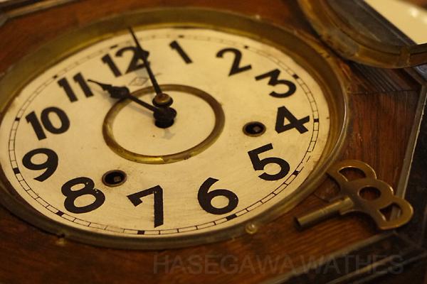 愛知時計 ゼンマイ 掛け時計 8日巻き 打ち方