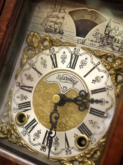 WUBA (Warmink)オランダ ワルミンク社製置き時計、手巻き