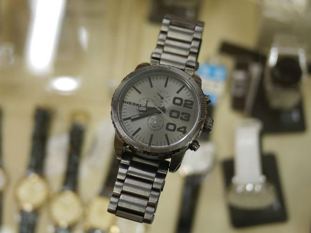 DIESELディーゼル腕時計アナログDZ4215ガンメタルIPビッグフェイス