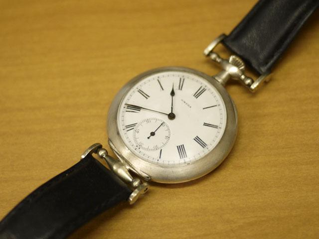 オメガ、アンティーク手巻き腕時計grand prix paris 1900