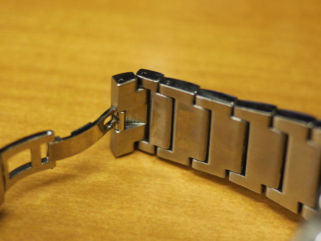 ブレイルBREILイタリア腕時計、バンド修理完了