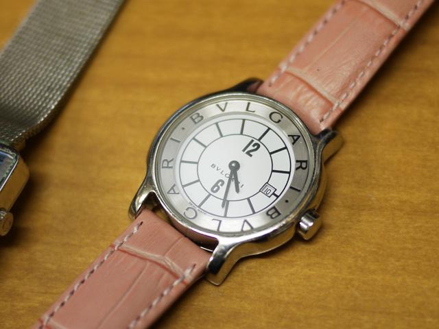 ブルガリ・ソロテンポ・レディース時計 ST29S