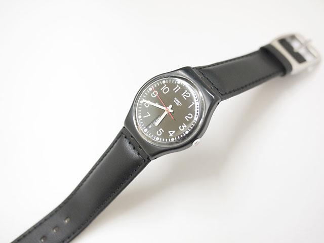ベルト交換と風防ガラス研磨で時計復活