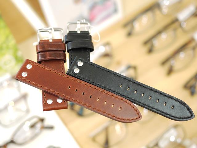 時計ベルト、リベット、ベルト交換