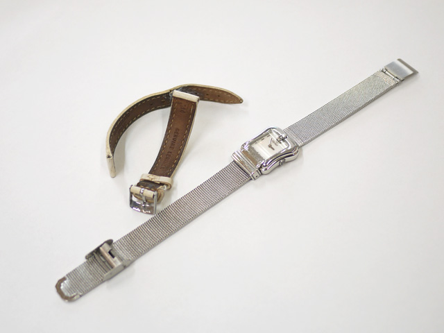 FENDIフェンディの時計のベルト交換完了!