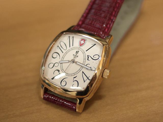 B WATCH ブランド不明な腕時計スイス製