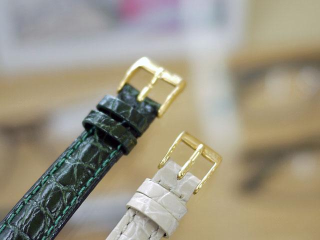 ハミルトンベルト尾錠シルバーから金色へ