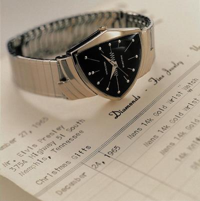 ハミルトン・エルヴィスプレスリー使用のベンチュラ時計