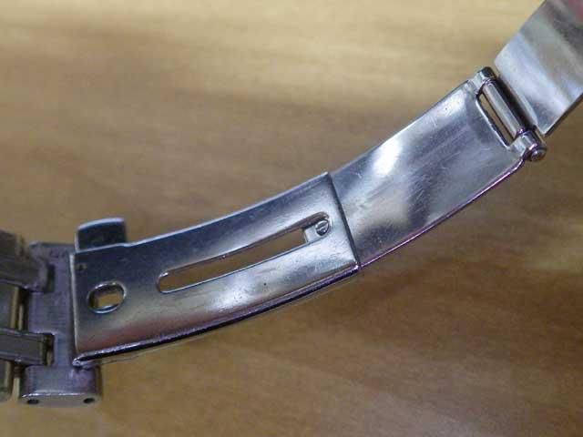 オメガ・シーマスター、スライド式ネジ修理完了