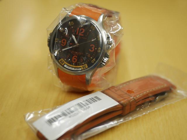 ハミルトン・カーキGMTエアレース 腕時計H77665873修理完了