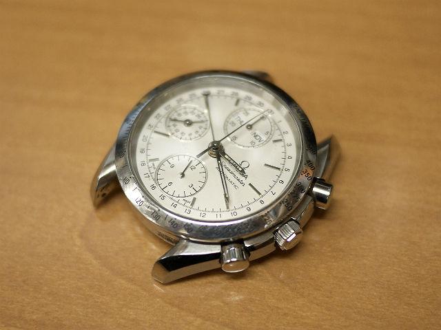 腕時計オメガ・スピードマスター・オートマチック自動巻き分解掃除