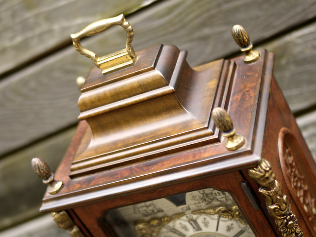 WUBA (Warmink)オランダ ワルミンク社製置き時計、機械式