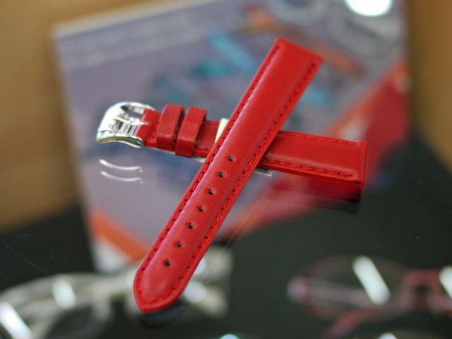イタリア製の腕時計用革ベルト・バンド・レザーストラップ長い