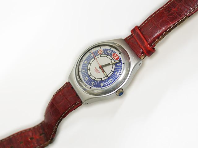 SWATCH腕時計の純正ベルトが傷んだ