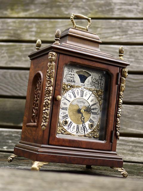 WUBA (Warmink) オランダ ワルミンク社製 置き時計