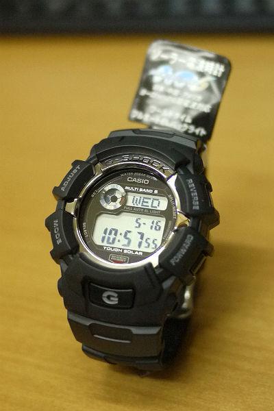 カシオ【G-SHOCK】電波ソーラー腕時計