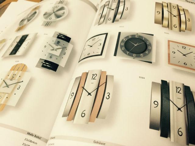 デザイン性に優れたドイツAMS(アムス、アームス)オシャレな掛時計