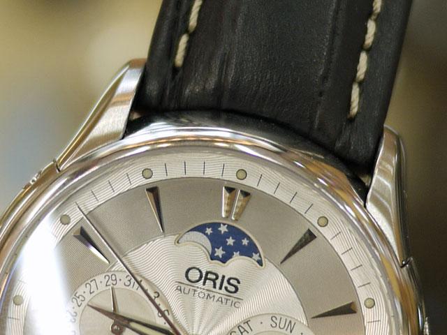 腕時計本体とベルト間の隙間が狭い状態