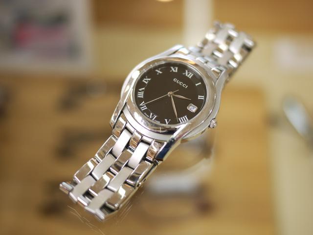 GUCCIグッチの時計、メンズ5500M