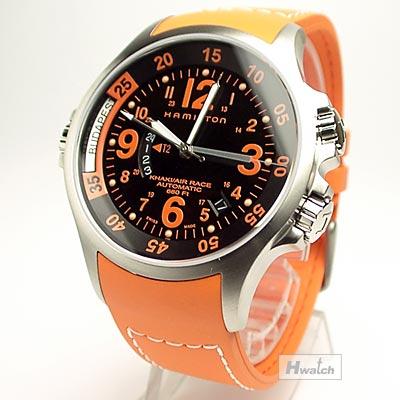 ハミルトン・カーキGMTエアレース 腕時計H77665873