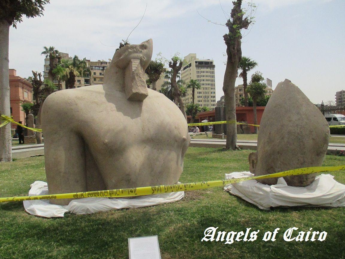 エジプト考古学博物館~展示され...