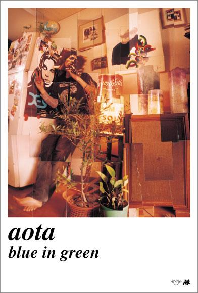 aota / BLUE IN GREEN flyer 4c