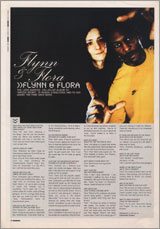 KNOWLEDGE MAGAZINE : FLYNN & FLORA -sum