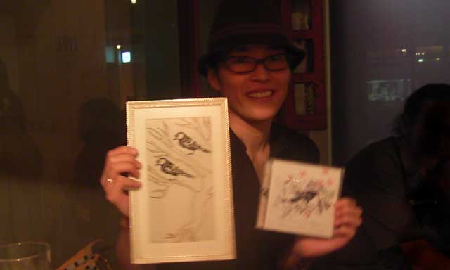 ERI with RACHAEL's artwork