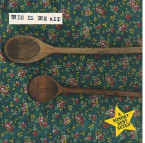 THIS IS THE KIT / TWO WOODEN SPOONS - s
