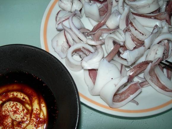 アオリイカ 料理
