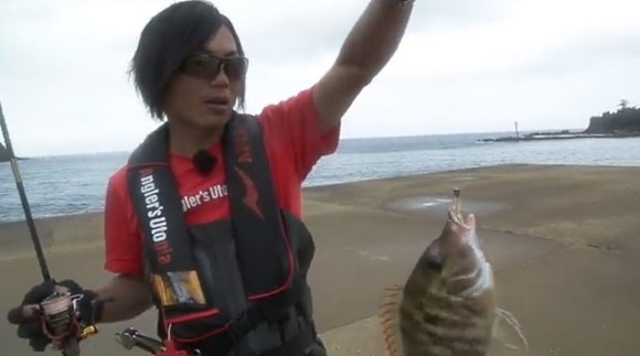 金丸竜児 APIA ATV タマン ハマフエフキ