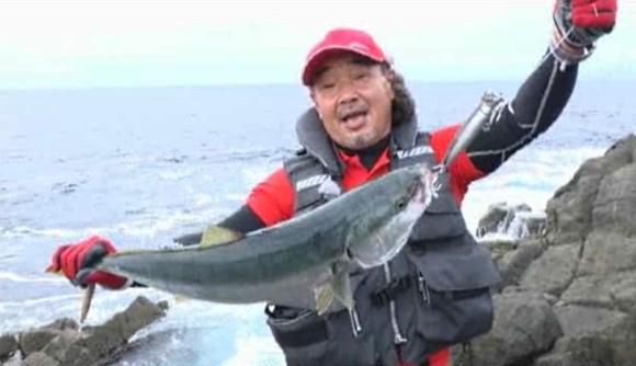 本林将彦 ブリ メジロ 北海道 ショアジギング