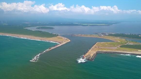 十三湖 青森県 汽水湖