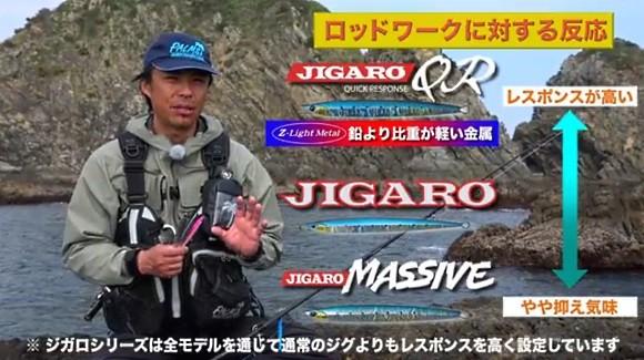 沼田純一 アングラーズリパブリック ジガロシリーズ