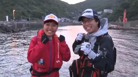 広瀬達樹 ヒロセマン ペルビー貴子 ルアルアチャンネル 高知 沖の島