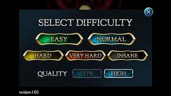 ゲーム難易度