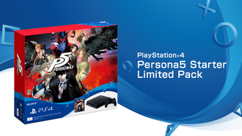 PlayStationR4 Persona5 Starter Limited Pack