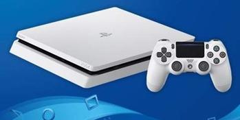 PS4スリムホワイト4677