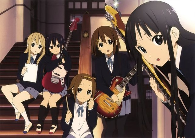 K-ON-Music-Band-Group-Members-Anime-Wallpaper