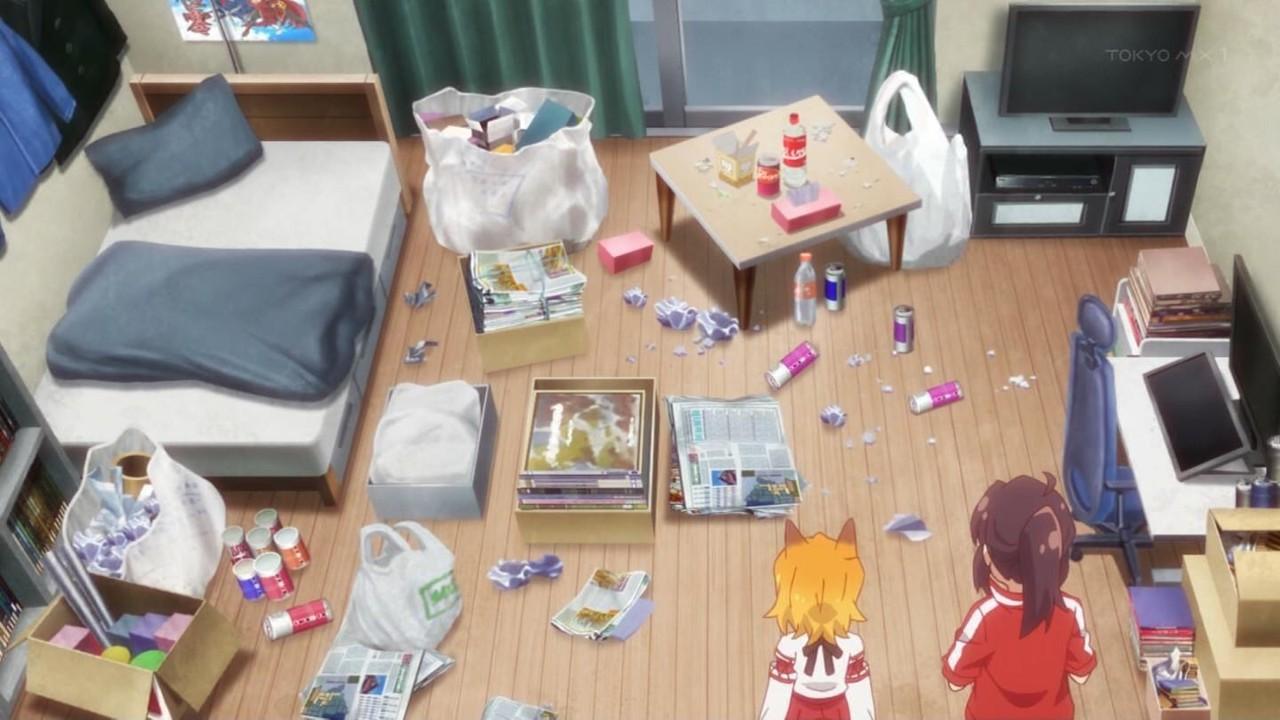 初めて行った彼女の部屋がこんな状態だったらどうする?