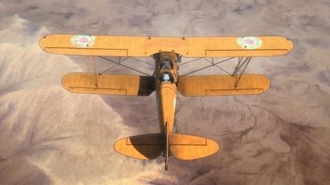 荒野のコトブキ飛行隊 9話 感想 145