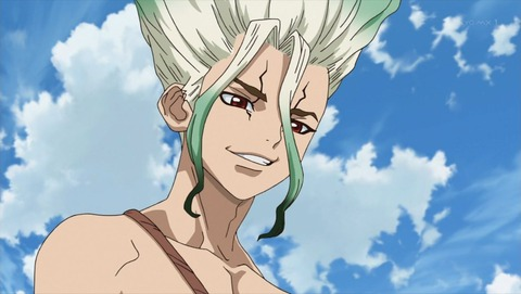 Dr.STONE 8話 感想 0103