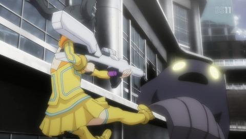 スクールガールストライカーズ Animation Channel 3話 感想 64