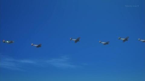 荒野のコトブキ飛行隊 4話 感想 658