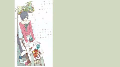 東京喰種 トーキョーグール 3話 EDイラスト 1