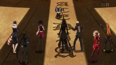 PERSONA5 the Animation 1話 感想 430