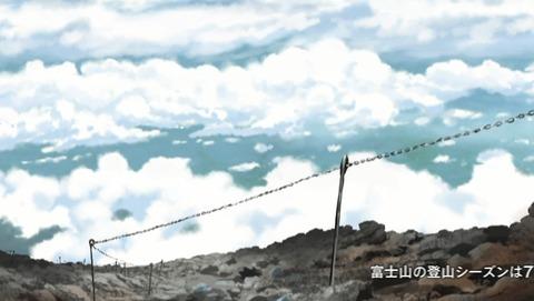 ヤマノススメ  10話 感想  セカンドシーズン 63