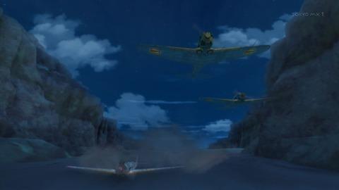 荒野のコトブキ飛行隊 8話 感想 144