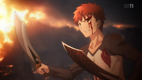 Fate stay night  UBW 21話 感想 02
